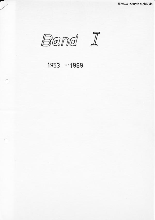 Cronik der Kampfgruppe des VEB Möbelkombinats Möbelkombinates Zeulenroda Zeutrie Zeu Trie Kampfgruppen der Betriebe der DDR Band 1 1953 bis 1969