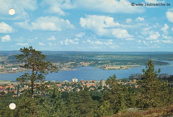 """Kartengrüße der Besatzung der MS """"Zeulenroda"""" aus Sundsvall Schweden"""