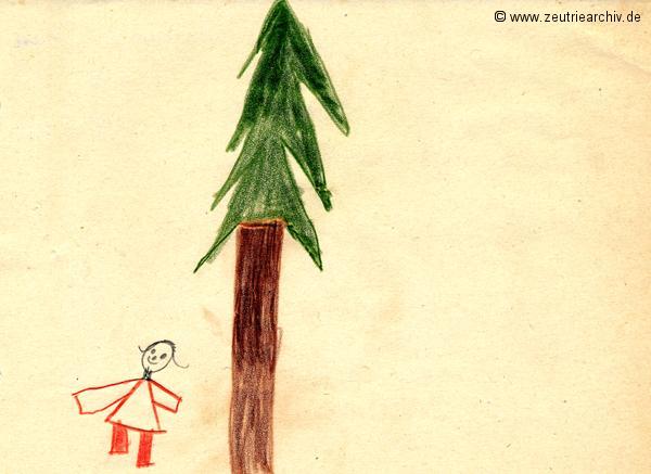 Gemälde der Patenklasse von Constance Orban Klasse 1a 13.12.1976 Kollektiv Ökonomie Hermann Krahnert des VEB Möbelkombinates Zeulenroda Zeutrie Zeu Trie 1976 bis 1977