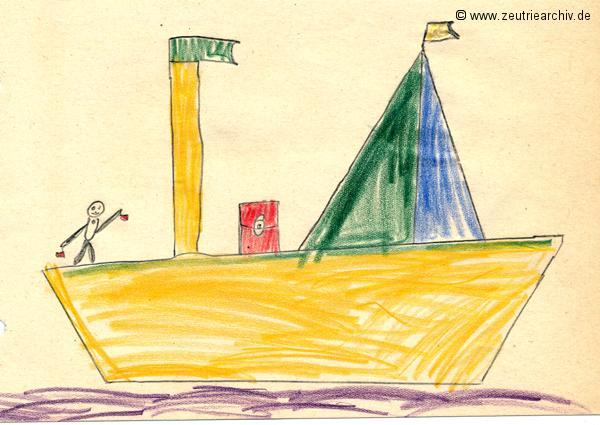 Gemälde der Patenklasse von Kai Uwe Günter Klasse 1a 13.12.1976 Kollektiv Ökonomie Hermann Krahnert des VEB Möbelkombinates Zeulenroda Zeutrie Zeu Trie 1976 bis 1977