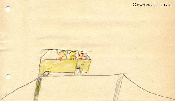 Gemälde der Patenklasse von Katrin Richter Klasse 1a 13.12.1976 Kollektiv Ökonomie Hermann Krahnert des VEB Möbelkombinates Zeulenroda Zeutrie Zeu Trie 1976 bis 1977