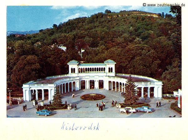 Kislovodsk Nationalpark Kollektiv Ökonomie Hermann Krahnert des VEB Möbelkombinates Zeulenroda Zeutrie Zeu Trie 1976 bis 1977