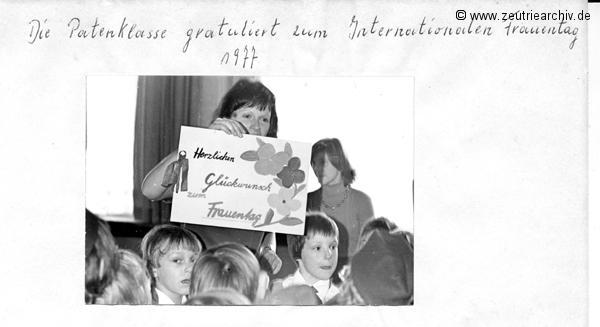 Kollektiv Ökonomie Hermann Krahnert des VEB Möbelkombinates Zeulenroda Zeutrie Zeu Trie 1976 bis 1977
