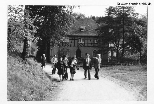 Wandertag nach Reichenfels Betriebsfestspiele 1977 Kollektiv Ökonomie Hermann Krahnert des VEB Möbelkombinates Zeulenroda Zeutrie Zeu Trie 1976 bis 1977