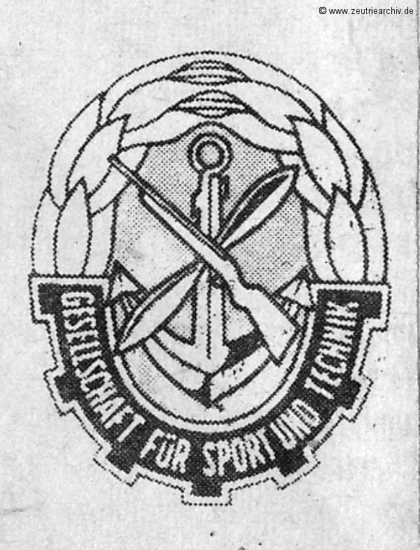 GST Zeichen Gesellschaft für Sport und Technik