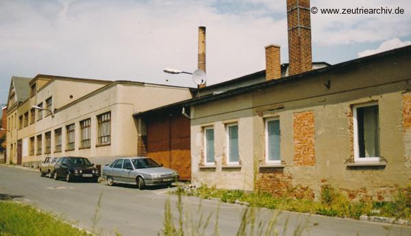Fotos der VEB Drahtweberei Neustadt Orla Betriebsteil Zeulenroda Baderschneider Lenzner DDR heute Zeuro Zeutrie Möbel