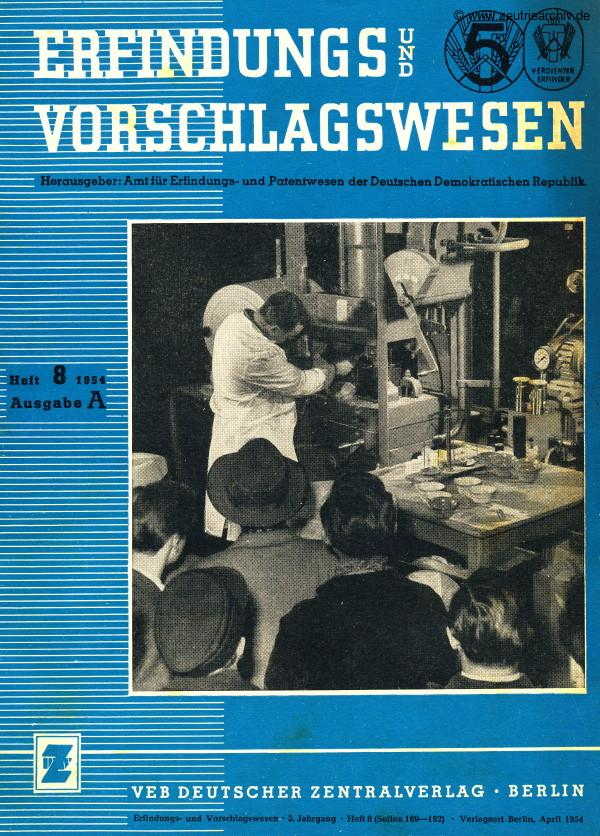 Industrieladen Berlin Zeutrie Möbel Zeulenroda DDR Erfindungs und Vorschlagswesen Herbert Heintze