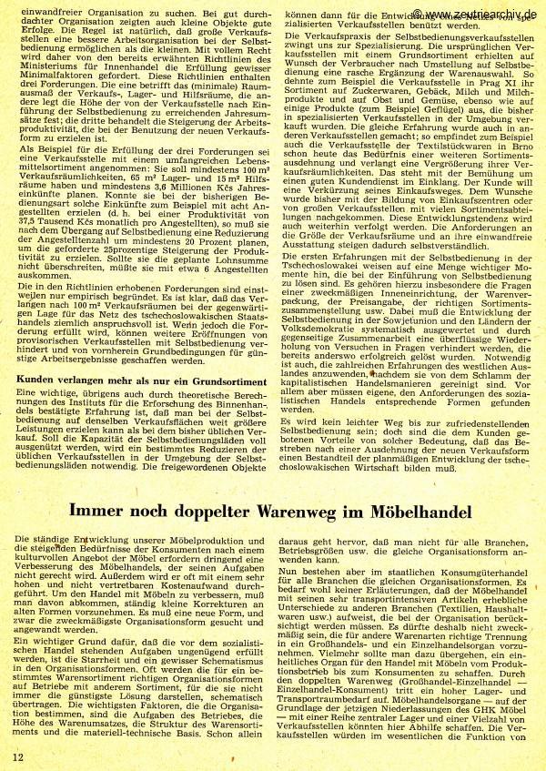 Industrieladen Berlin Zeutrie Möbel Zeulenroda DDR Der Handel