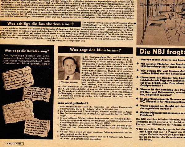 Zeuro Zeutrie Möbel Zeulenroda Neue Berliner Jillustrierte