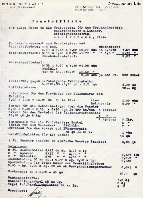Ordner DWO11 Schlosserei Schornstein Kulturraum des VEB Metallweberei Neustadt Orla Betriebsteil Zeulenroda Baderschneider Lenzner DDR heute Zeuro Zeutrie Möbel