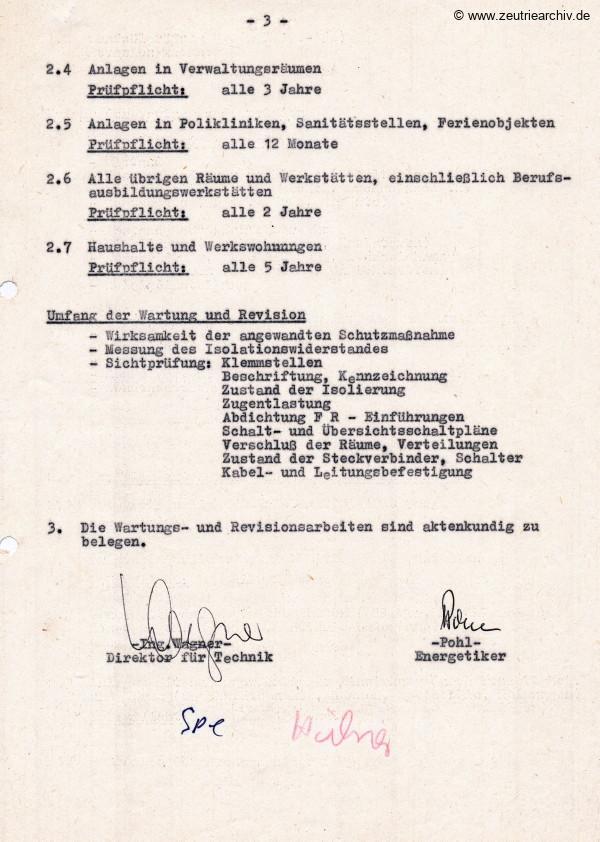 Ordner Elektrische Anlagen des VEB Metallweberei Neustadt Orla Betriebsteil Zeulenroda Baderschneider Lenzner DDR heute Zeuro Zeutrie Möbel