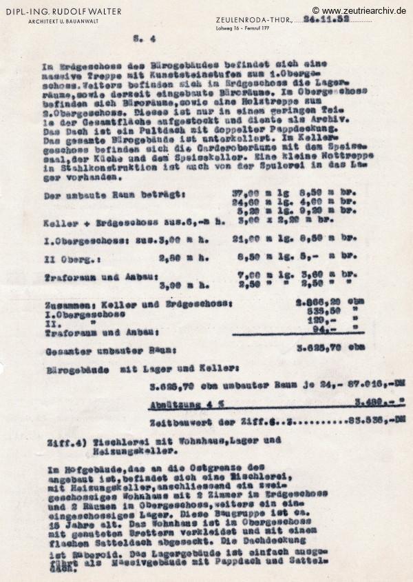 Ordner Grundstücke Gebäude des VEB Metallweberei Neustadt Orla Betriebsteil Zeulenroda Baderschneider Lenzner DDR heute Zeuro Zeutrie Möbel