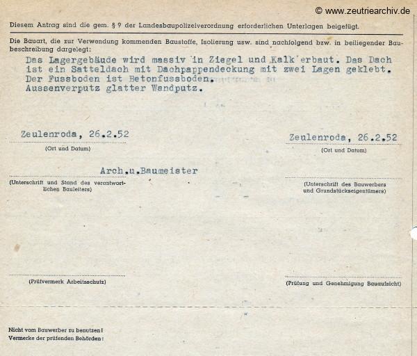 Ordner Lagergebäude des VEB Metallweberei Neustadt Orla Betriebsteil Zeulenroda Baderschneider Lenzner DDR heute Zeuro Zeutrie Möbel